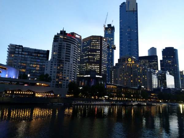 Melbourne City Scape